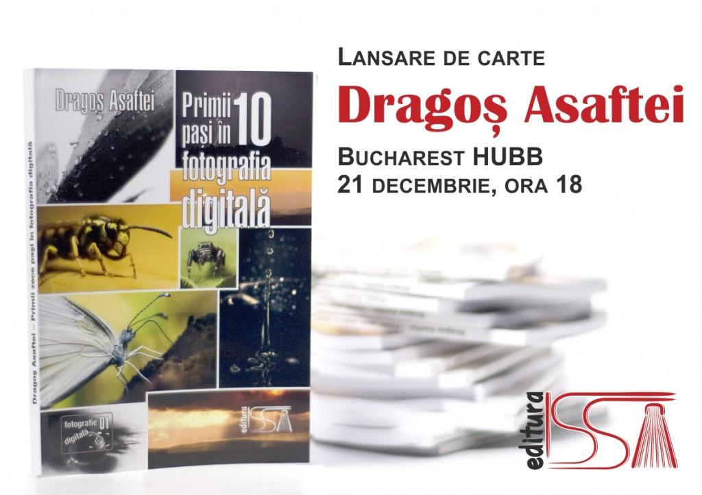 Lansare de carte   Bucharest Hubb, 21 decembrie, ora 18