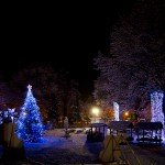 Peisaj al luminilor nocturne 2 - Nikon D7000, 18-55, 1/25, f/3.5, ISO 1250