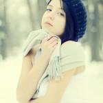 Portret de iarnă 2 - Nikon D7000 + 50 1.8, 1/5000s, f/1.8, ISO 400