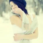 Portret de iarnă 3 - Nikon D7000 + 50 1.8, 1/5000s, f/1.8, ISO 400