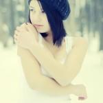 Farmecul unui portret de iarnă 2 - Nikon D7000 + 50 1.8 - 1/5000s, f/1.8, ISO 400