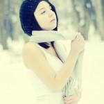 Farmecul unui portret de iarnă 3 - Nikon D7000 + 50 1.8 - 1/5000s, f/1.8, ISO 400