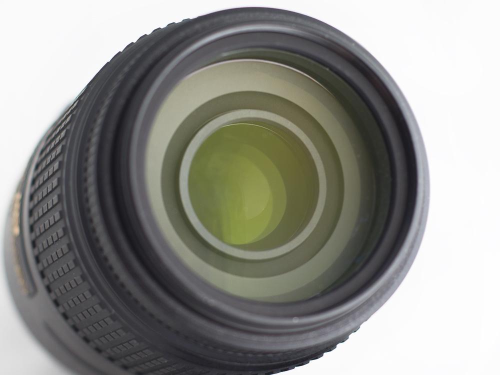 Nikkor 55-300 VR - Vedere frontală