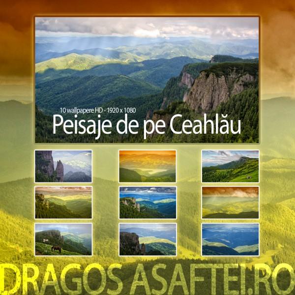 Peisaje de pe Ceahlău