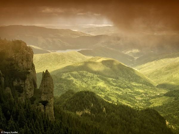 Peisaje de pe Masivul Ceahău