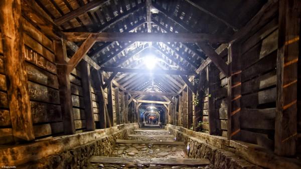 Cetatea Sighișoarei pe timp de noapte