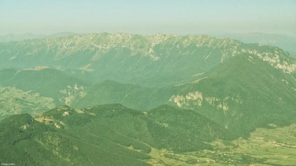 Zbor peste Transilvania: Munții Piatra Craiului
