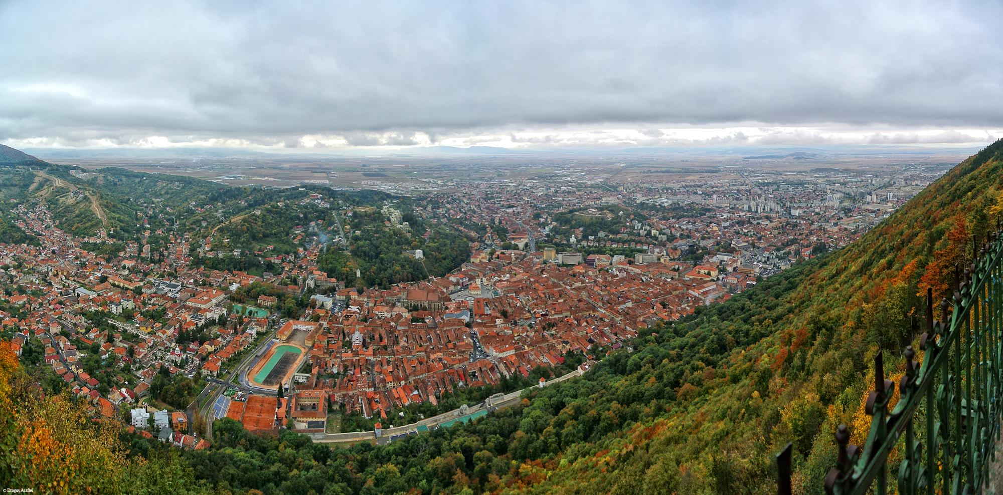 Panoramă Brașov - Nikon 1 V1