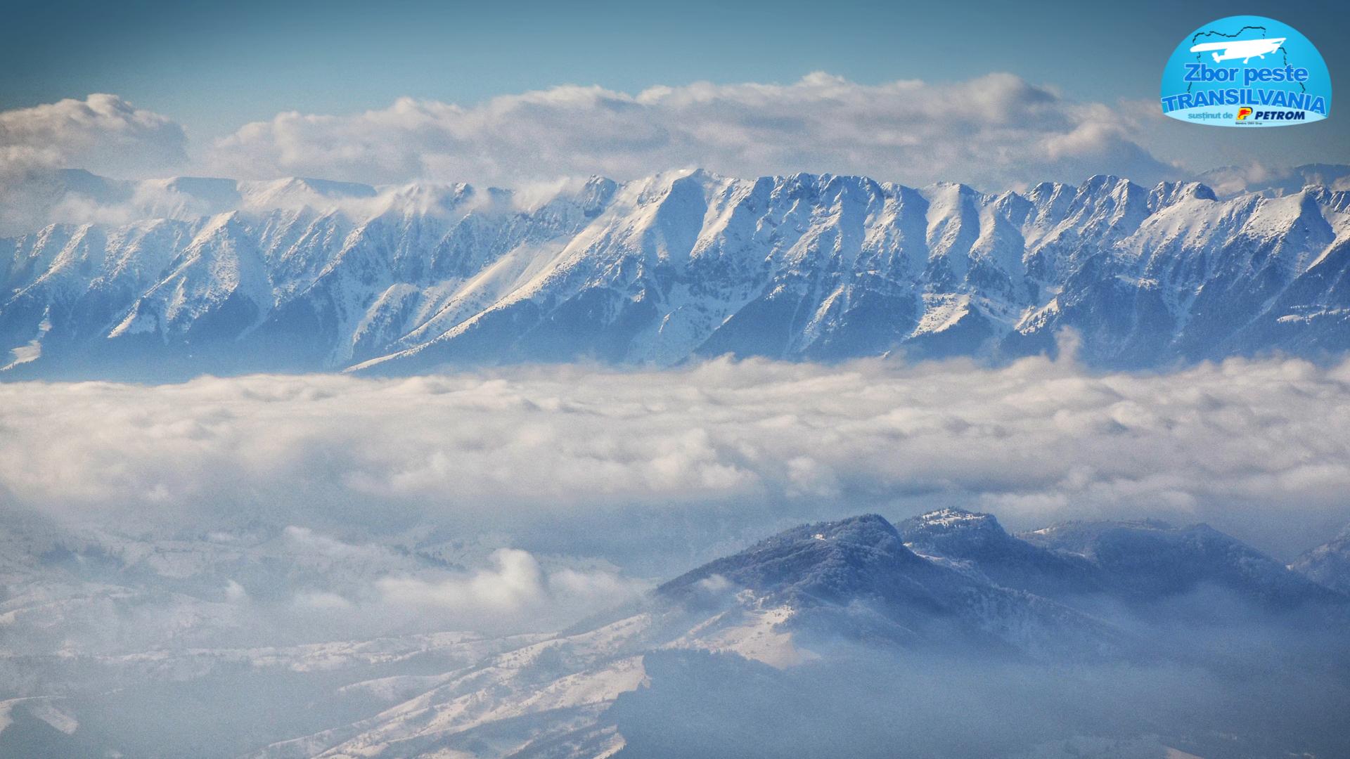 Zbor peste Transilvania - Munții Piatra Craiului
