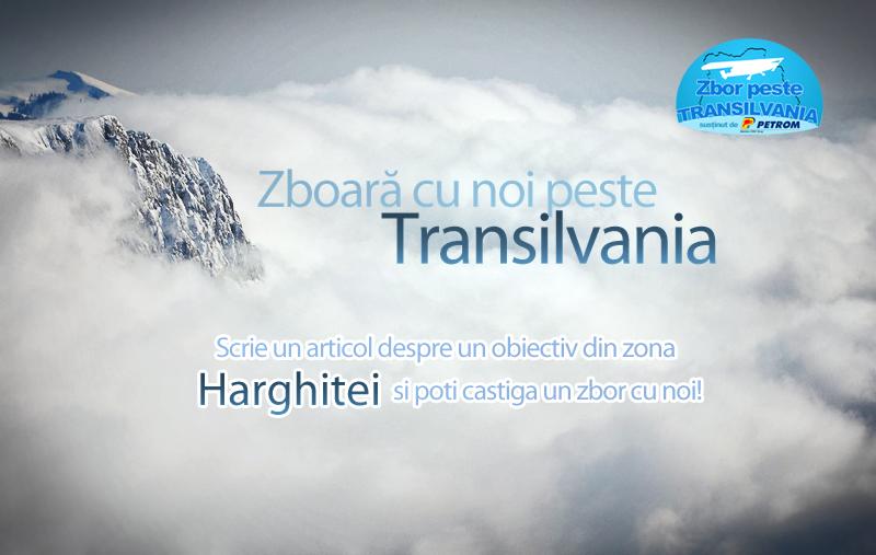 Zboară cu noi peste Transilvania