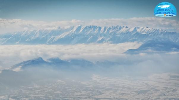 Zbor peste Transilvania - Munții Piatra-Craiului