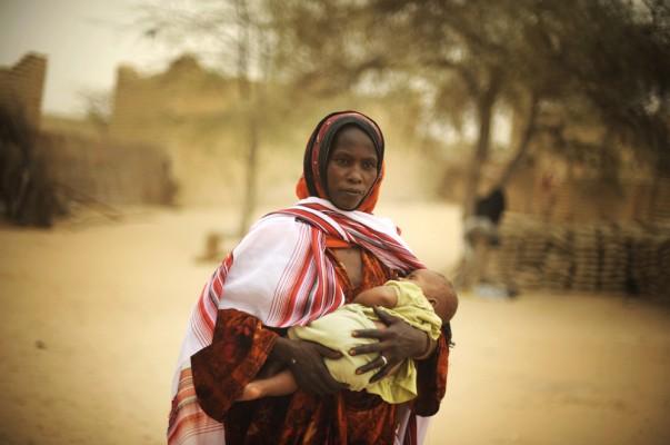 Foamete în regiunea Sahel