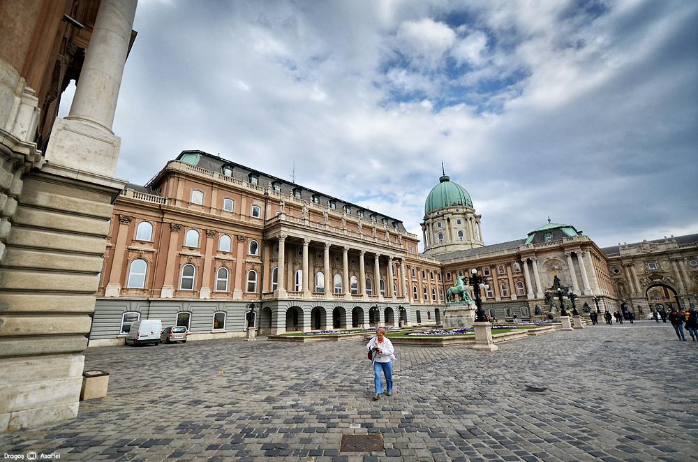 Castelul Buda - Curtea interioară