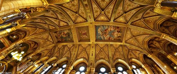 Tavanul Parlamentului Ungariei