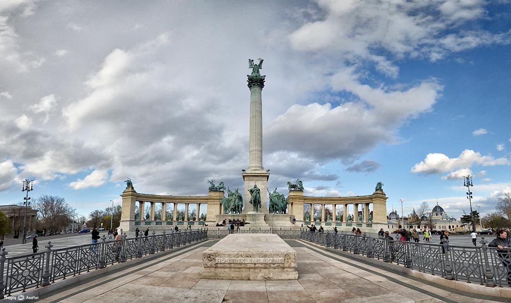 Piața Eroilor din Budapesta