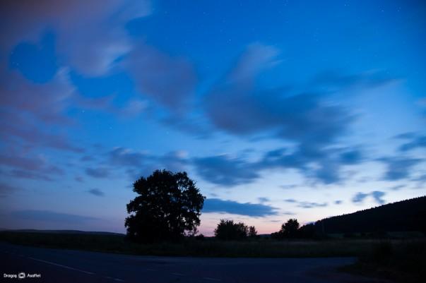 Peisaje de noapte - Nikon D4 + 24-120 - 30s, f/4, ISO 1000