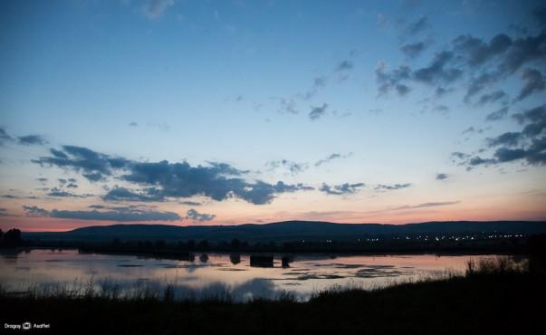 Peisaje de noapte - Nikon D4 + 24-120 - 1/60s, f/4, ISO 6400