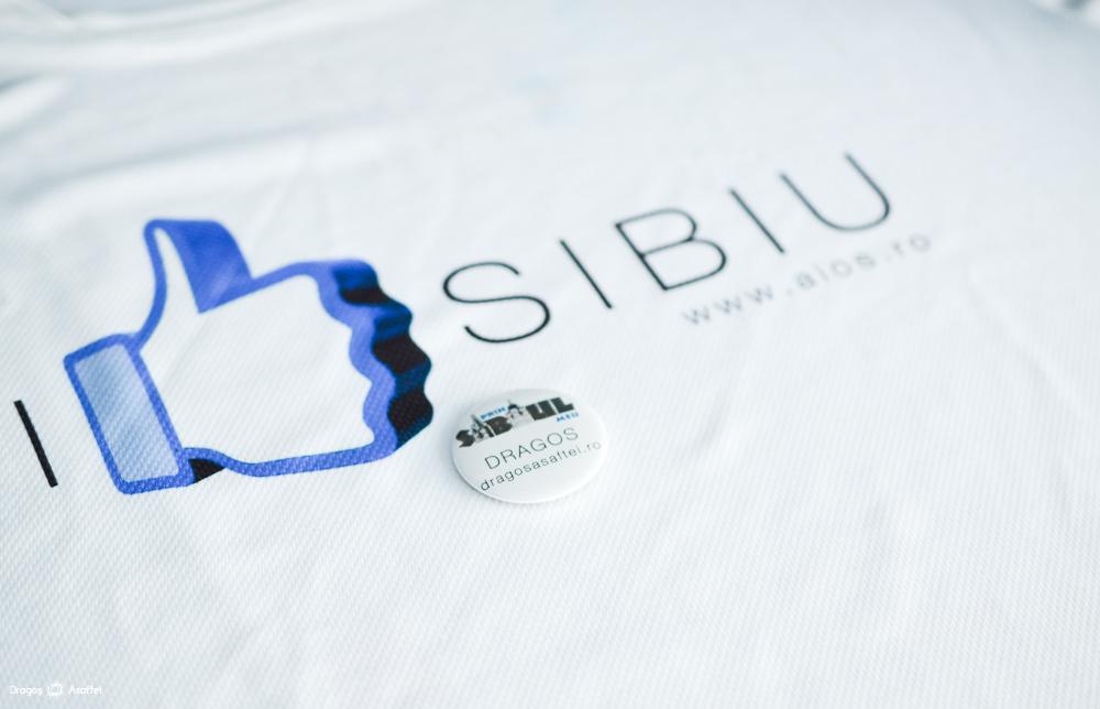 #PrinSibiulMeu - Insigna și tricoul