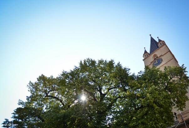 #PrinSibiulMeu - Turnul Catedralei Evanghelice
