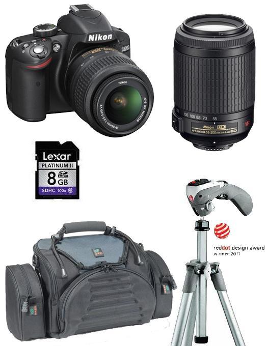 Vrei un Nikon D3200?