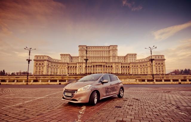 Peugeot 208 la răsărit