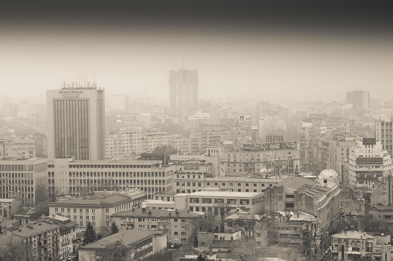 Bucureștiul văzut de pe Crystal Tower – Sony Nex-5R + 18-200