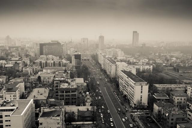 Bucureștiul văzut de pe Crystal Tower - Sony Nex-3R + 18-200