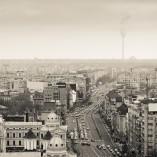 Clipe din București de pe Intercontinental