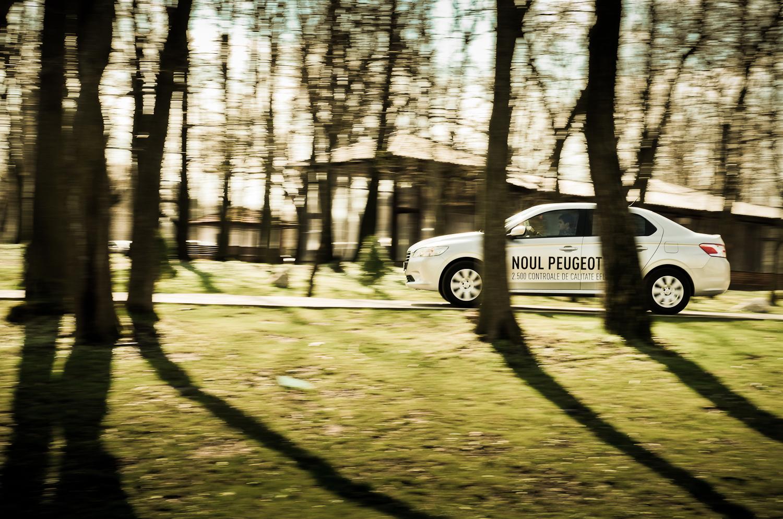 Noul Peugeot 301 în Rezervația Comana