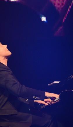 Fotografii de la concertul lui Richard Clayderman