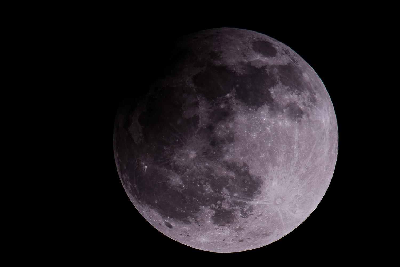 Fotografii cu eclipsa de lună din 2013