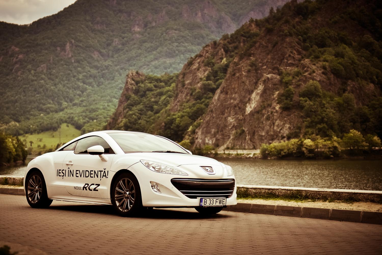 Peugeot RCZ - Valea Oltului