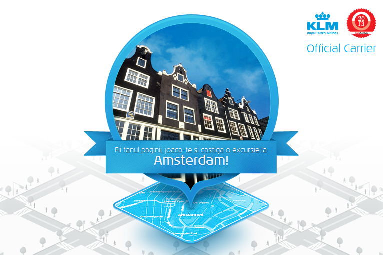 Exploreaza Amsterdamul cu KLM