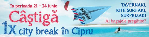 Câștigă un city break în Cipru