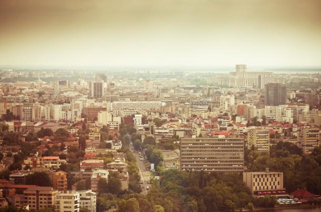 Bucureștiul fotografiat de pe Sky Tower
