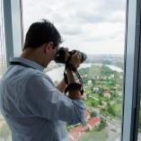 Cristi Dorombach - Bucureștiul fotografiat din Sky Tower