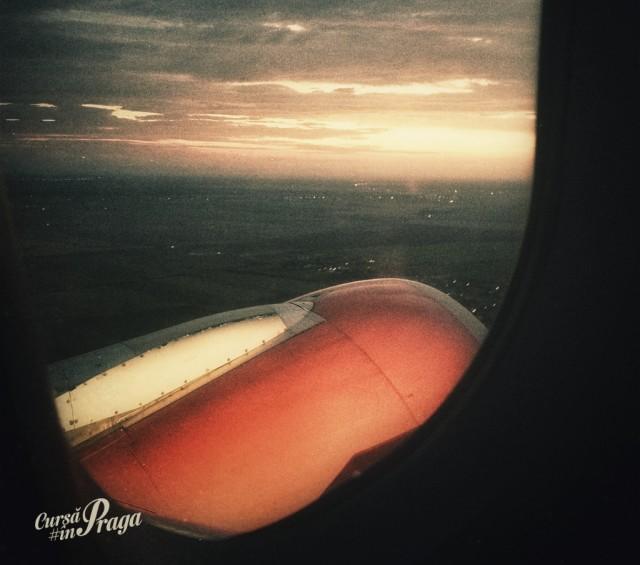 Răsăritul din avion