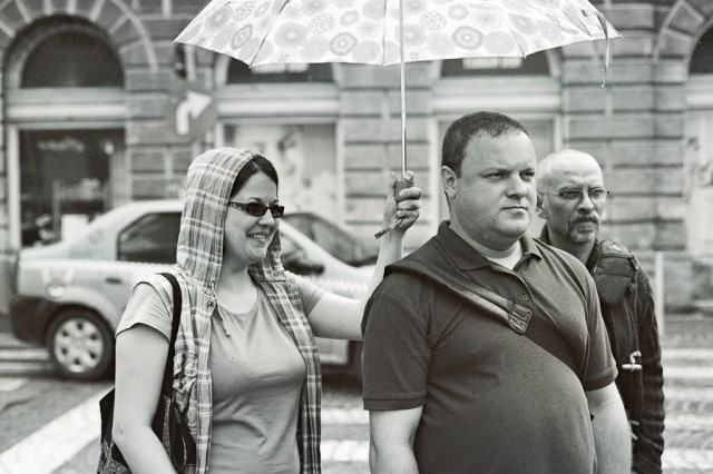 Fotoreportaj pe film alb-negru #prinSibiulmeu