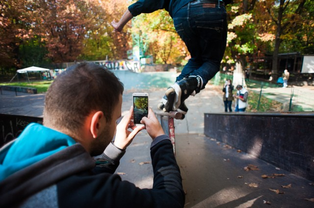 Workshop - Fotografie sportivă cu HTC One