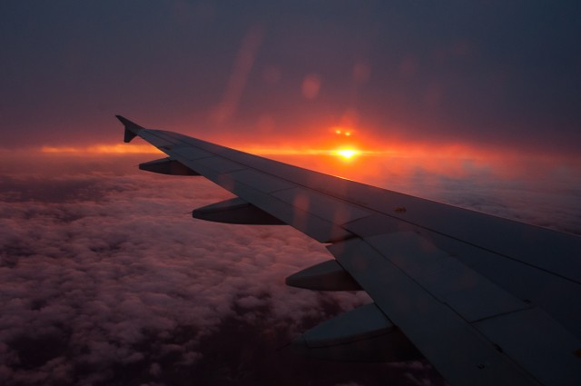 #inPraga - Fotografii din avion