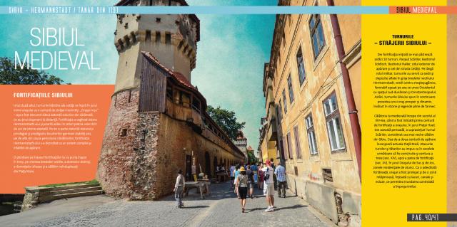 Broșura de promovare a Sibiului în 2014
