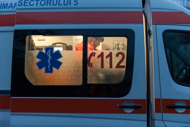Primul caz - Fotoreportaj: 15 ore pe ambulanță