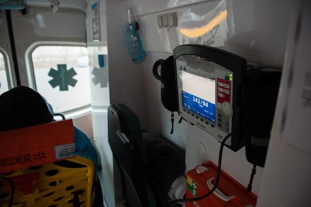 Drumul spre Spitalul Municipal - - Fotoreportaj: 15 ore pe ambulanță