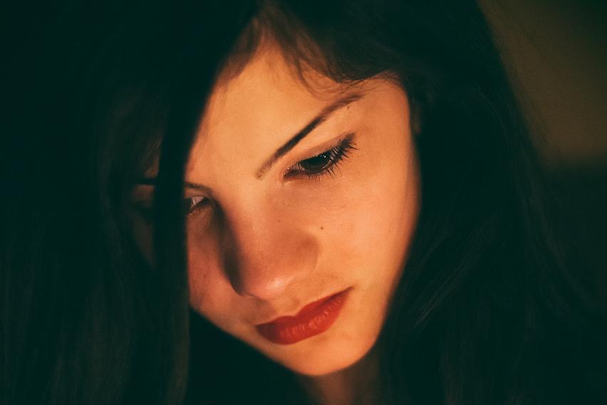 Portret la lumina lumânărilor