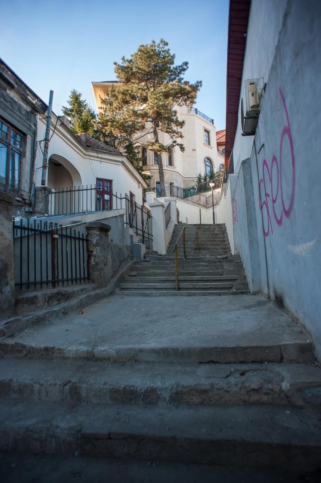 Strada Xenofon din București în fotografii