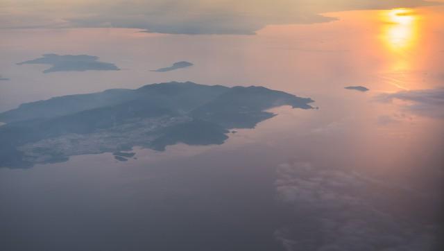Vedere deasupra Greciei