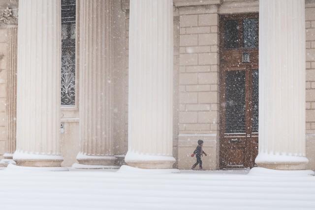 Iarna în București - Primele fotografii 10