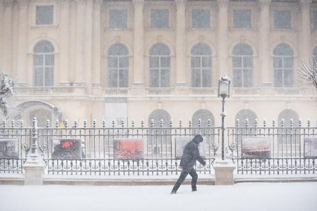 Iarna în București - Primele fotografii 12