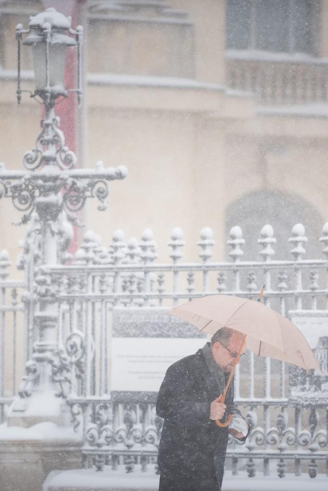 Iarna în București - Primele fotografii 13