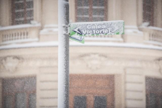 Iarna în București - Primele fotografii 15